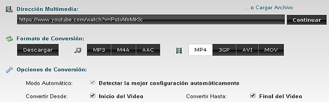 Como convertir un vídeo del portal YouTube a mp4 sin pagar