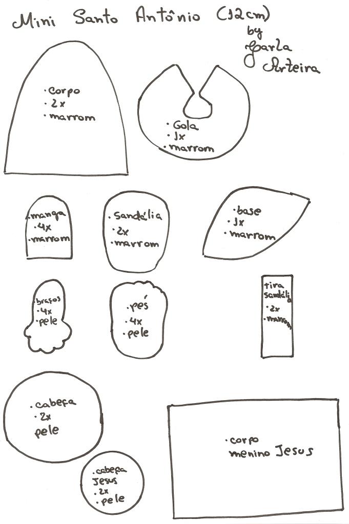 Riscos e Desenhos | Moldes para Eva e Feltro 2