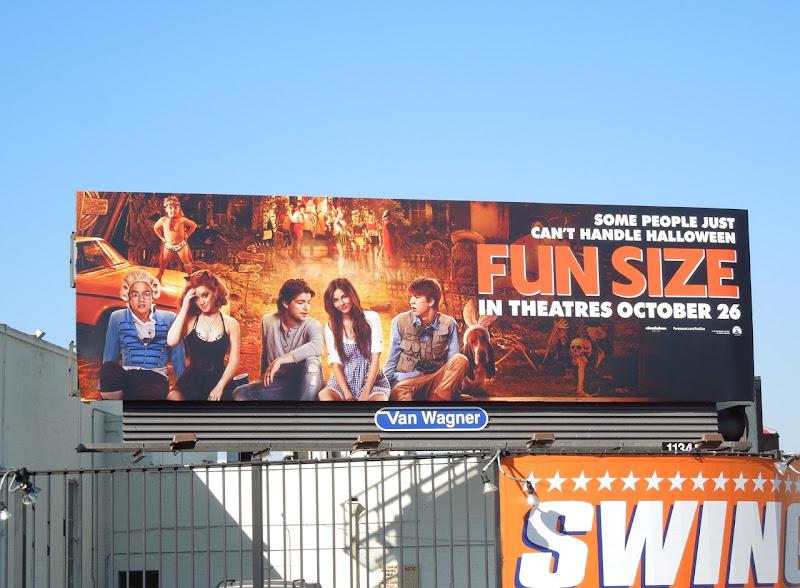Fun Size film billboard