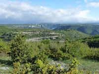 ヴィス峡谷 gorges de la Vis サン・ギエムの道 Chemin de Saint-Guilhem