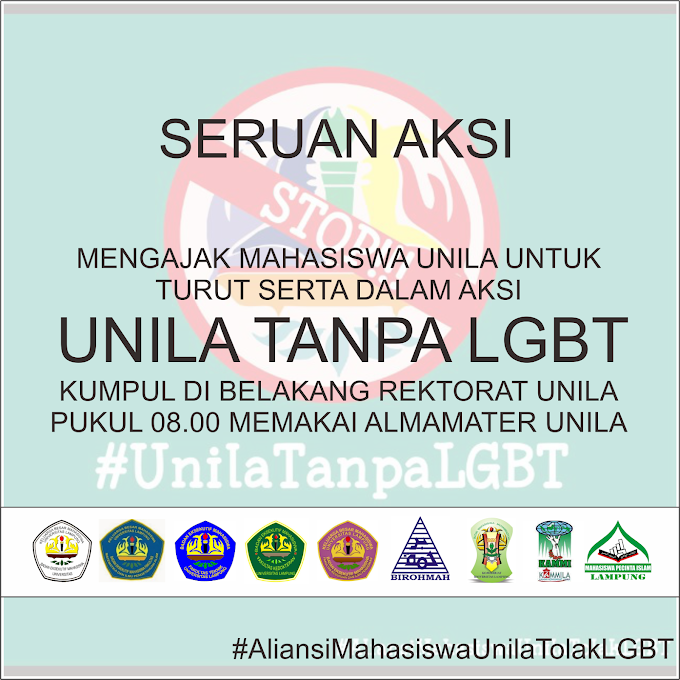 Seruan Aksi Unila Tanpa LGBT Kamis 3 Desember 2015