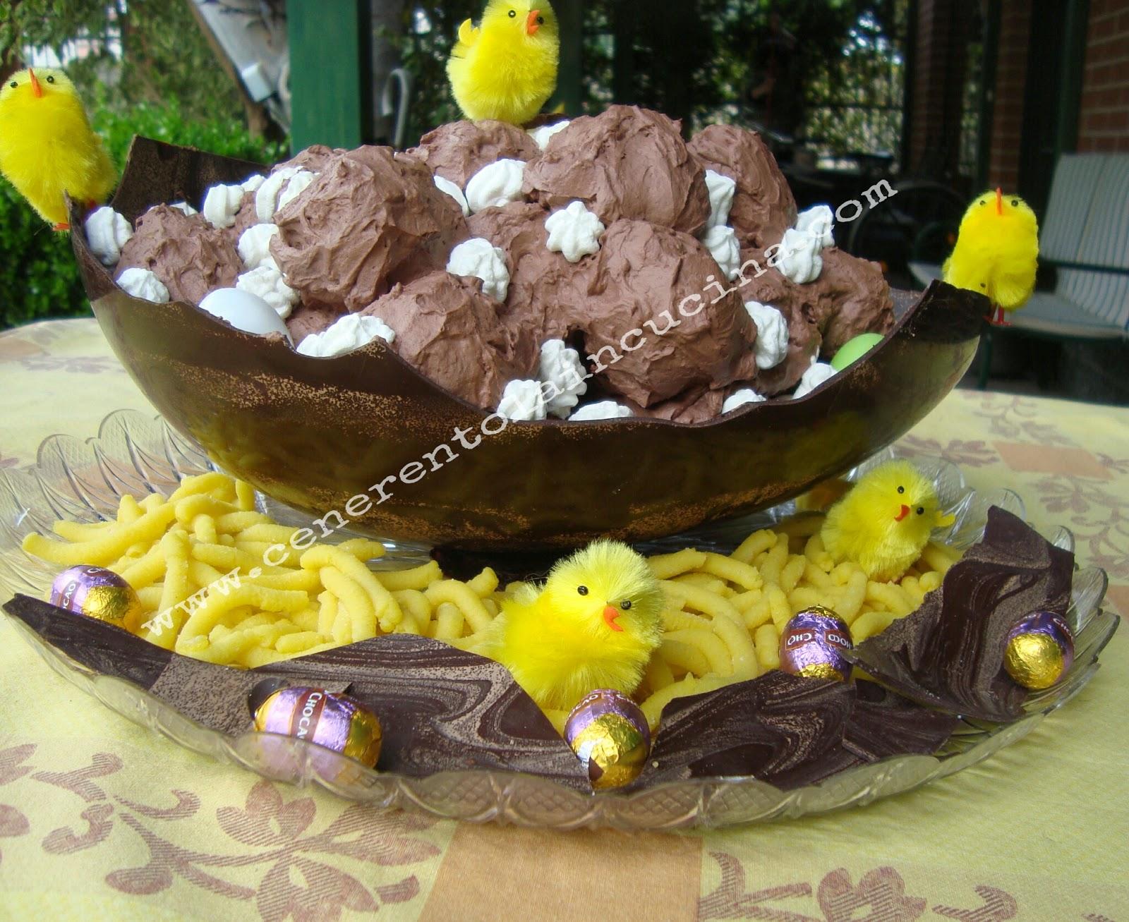 Profiteroles nell uovo