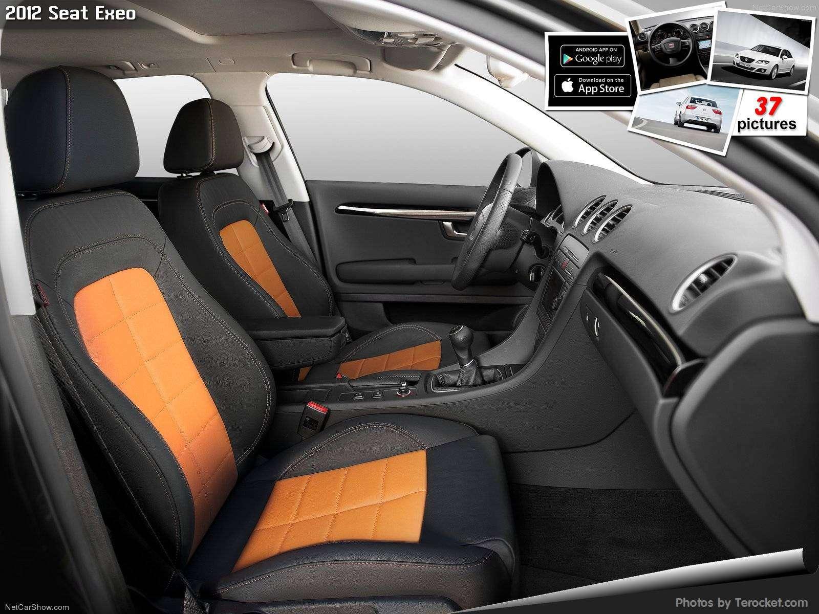 Hình ảnh xe ô tô Seat Exeo 2012 & nội ngoại thất