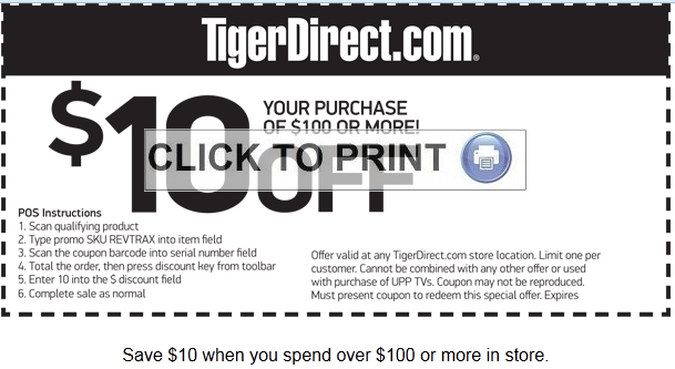 Tigerdirect coupon code december 2018