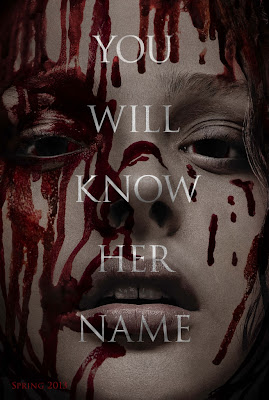 Chloë Grace Moretz, Carrie, remake, De Palma, poster, affiche, YOU WILL KNOW HER NAME