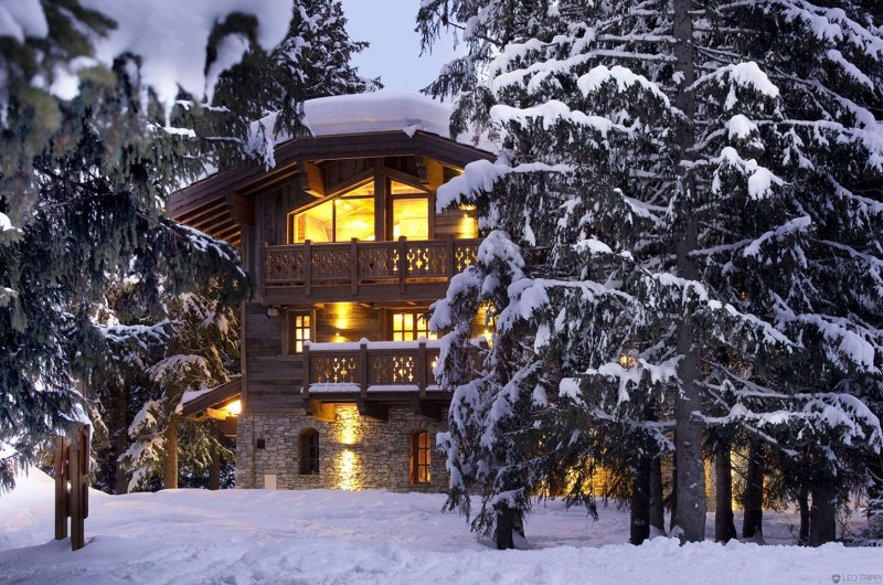 luxury chalet les gentianes 1850 in courchevel passions for luxury