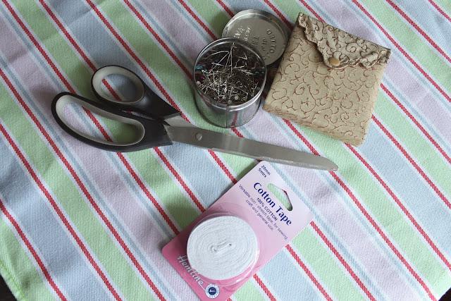 DIY Tea Towel Apron Tutorial