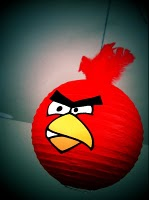 Angry Bird Lampion Making