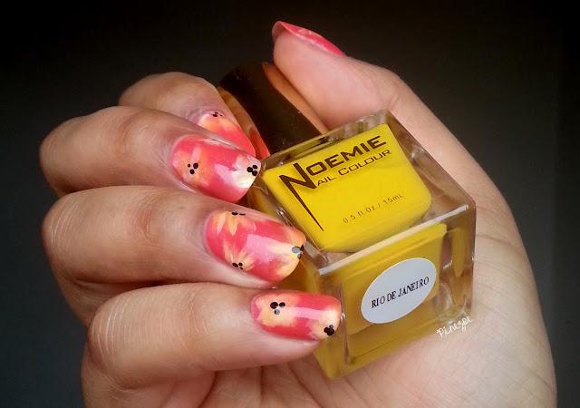 nail art fleurs
