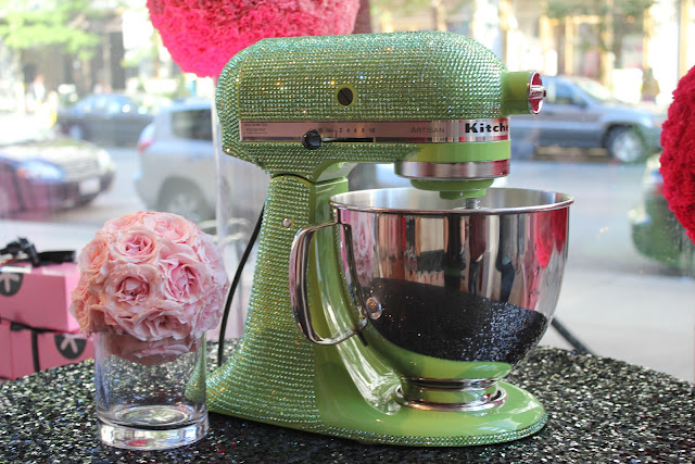 Bejeweled KitchenAid at Georgetown Cupcake Newbury, Boston, Mass.
