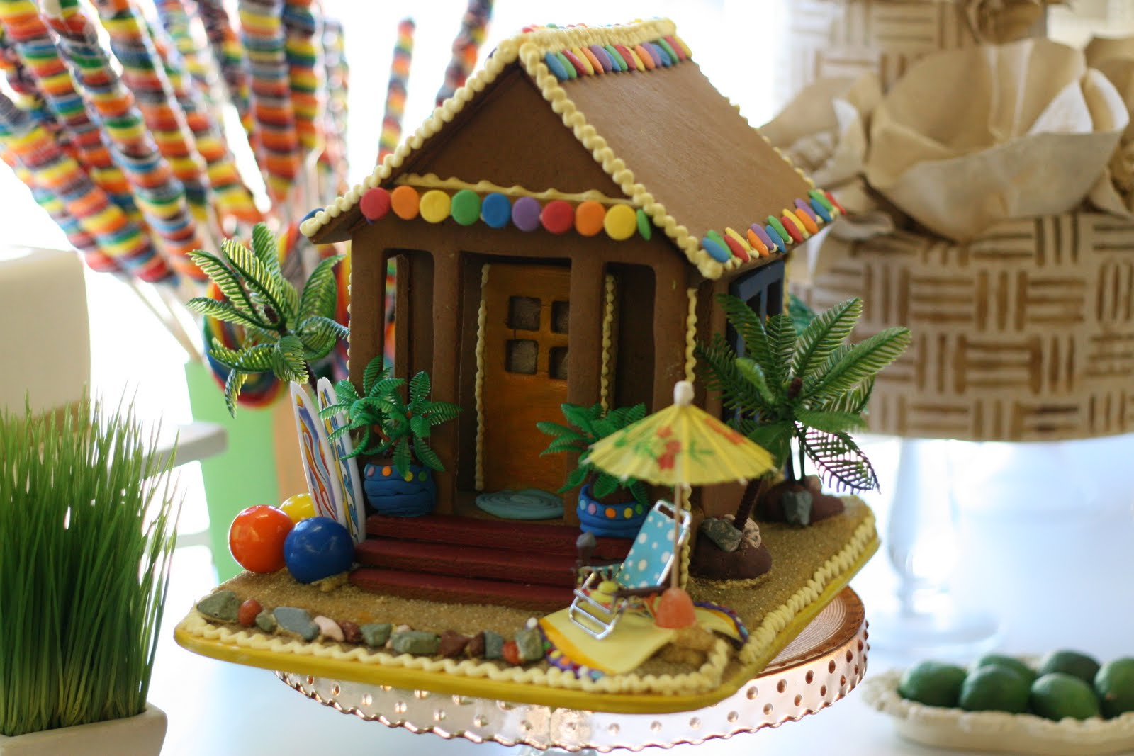 Christmas Decorations For The Beach House : The solvang bakery gingerbread company two