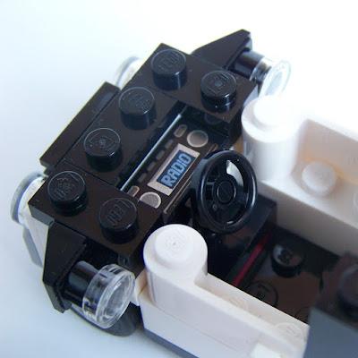 LEGO car interior