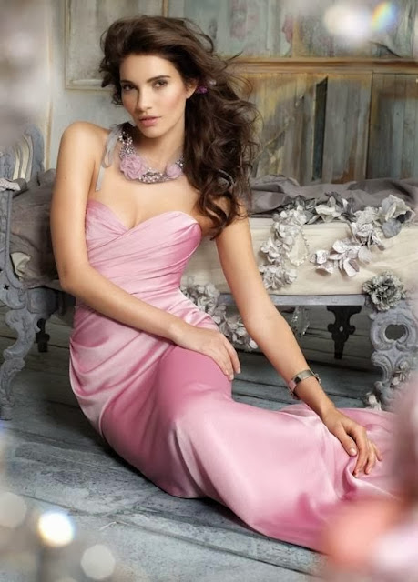 Charming A-line Sweetheart Floor-length Elastic Satin Bridesmaid Dress