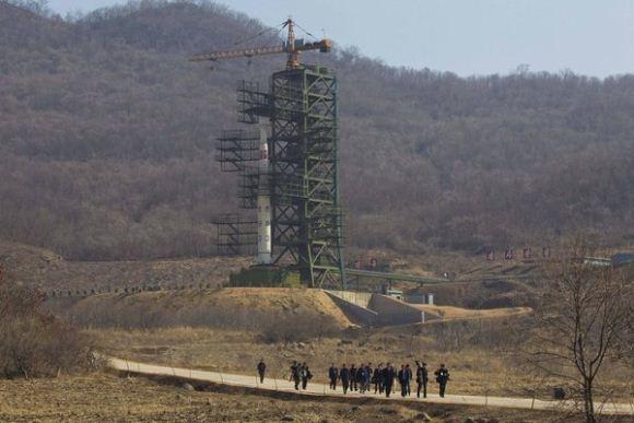 Fasilitas pelincuran roket Korea Utara