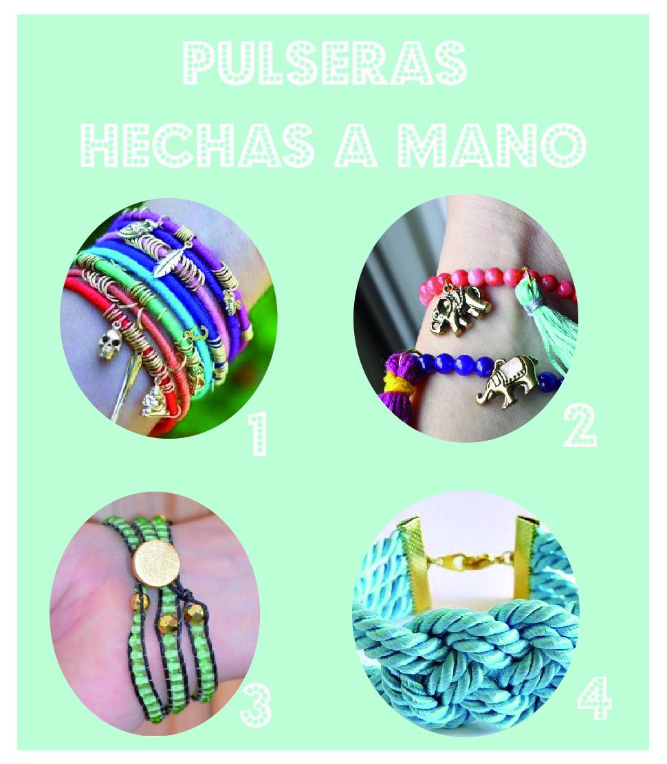 pulseras de gomas hechas a mano Pulseras de gomas - imagenes de pulseras hechas a mano