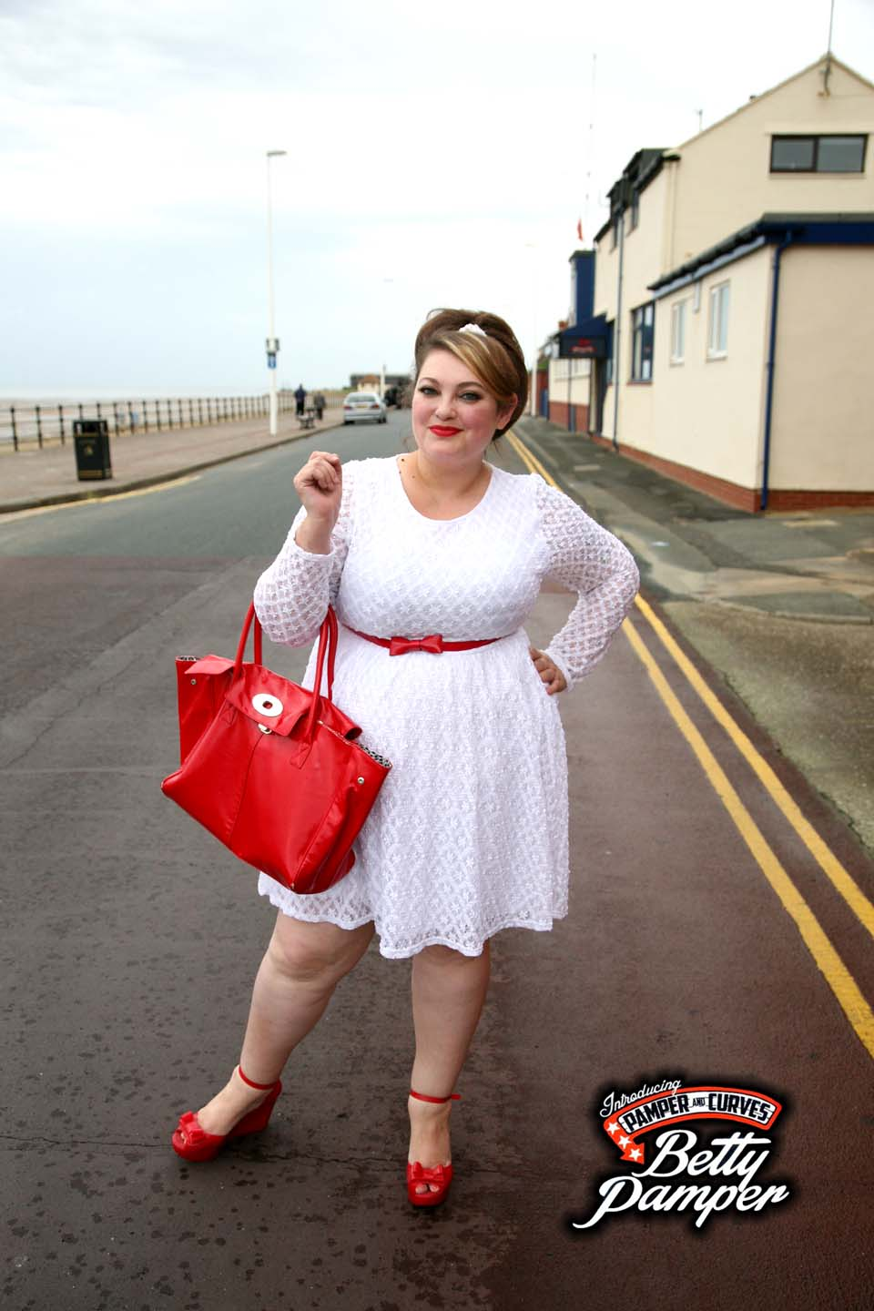Plus Size White Lace Skater Dress By Topsy Curvy A Review Pamper