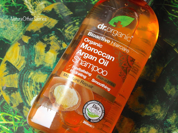 Dr Organic & lo Shampoo all'Argan