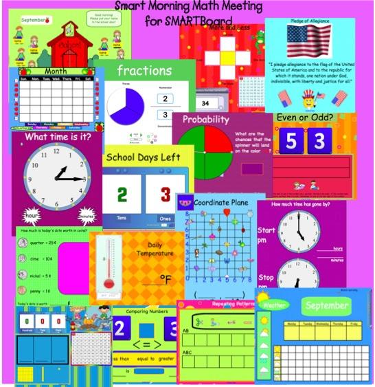 Kindergarten Calendar Smartboard : Interactive january calendar smartboard new
