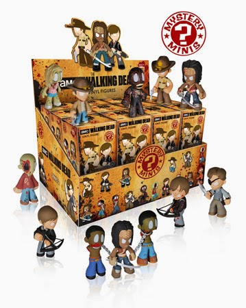 The Walking Dead Mystery Minis Blind Box Series 2 Packaging by Funko
