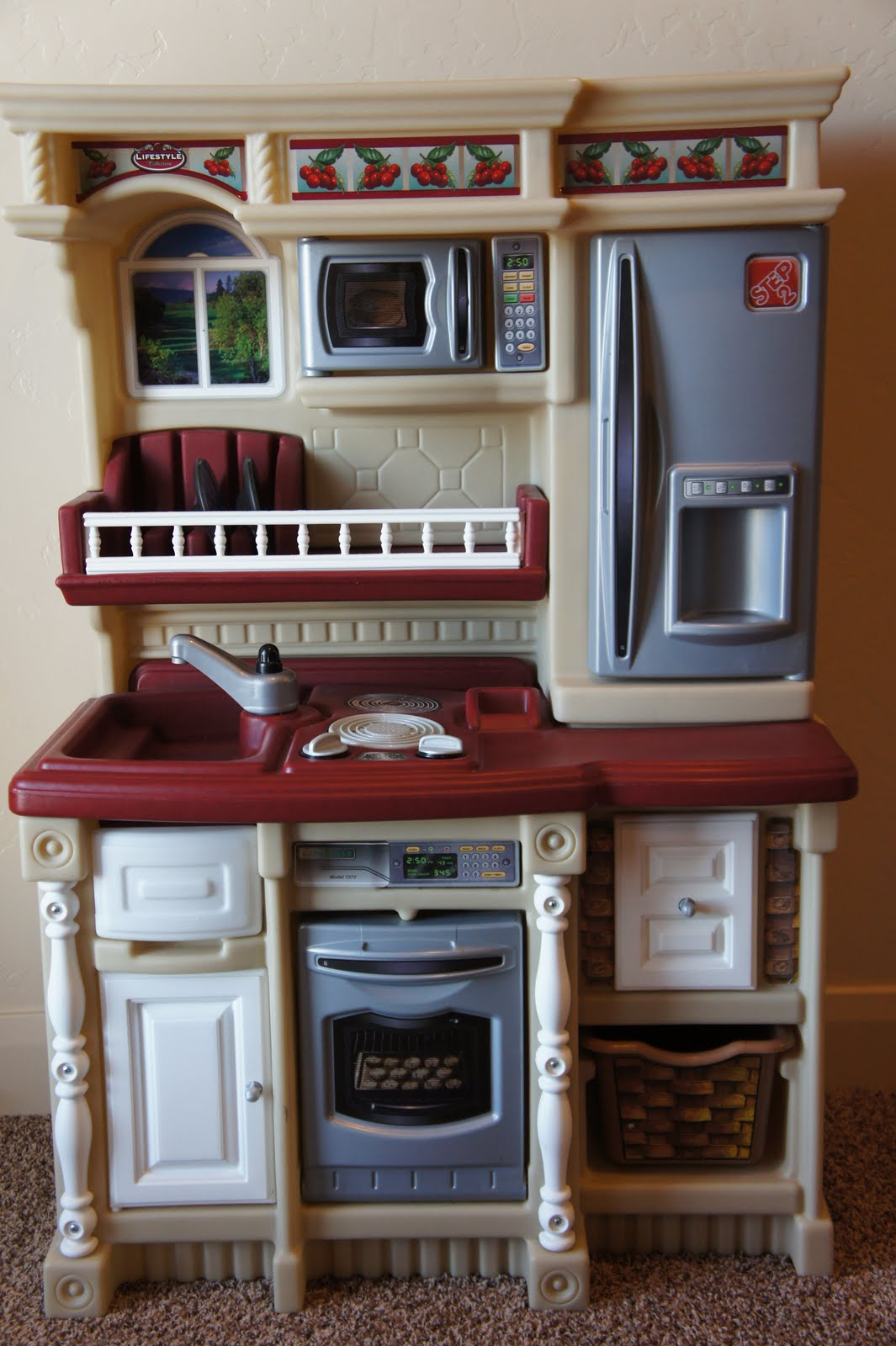 Kids Step 2 Lifestyle Custom Kitchen With Accessory And Food Set. Asking  $45.00 SOLD Http://www.walmart.com/ip/Step2 Lifestyle Custom Kitchen/5903083