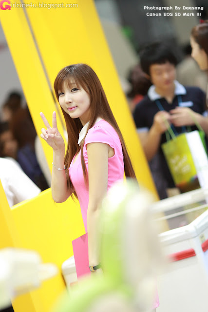5 Lee Yoo Eun at SIDEX 2012-very cute asian girl-girlcute4u.blogspot.com
