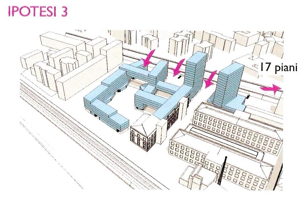 Nonsolosanjacopino le ipotesi progettuali delle torri for Piani di costruzione di edifici residenziali in metallo