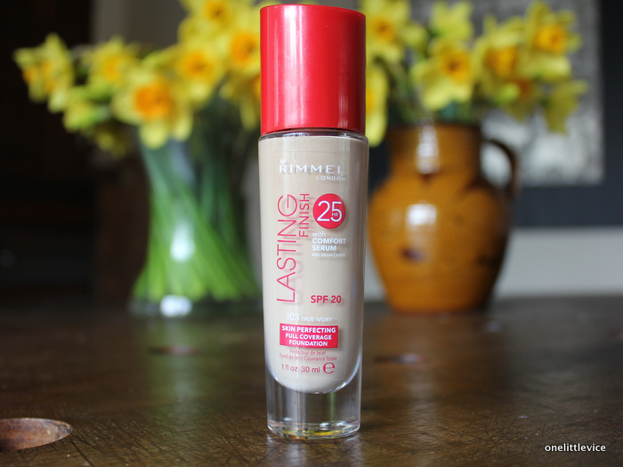 one little vice beauty blog: high coverage drugstore foundation true ivory