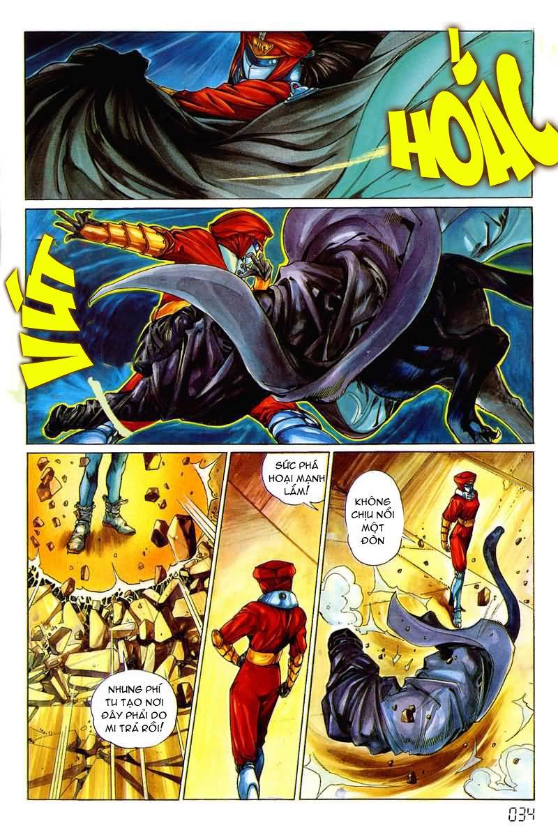 Cyber Weapon Z - Siêu Thần Z chap 3 - Trang 27
