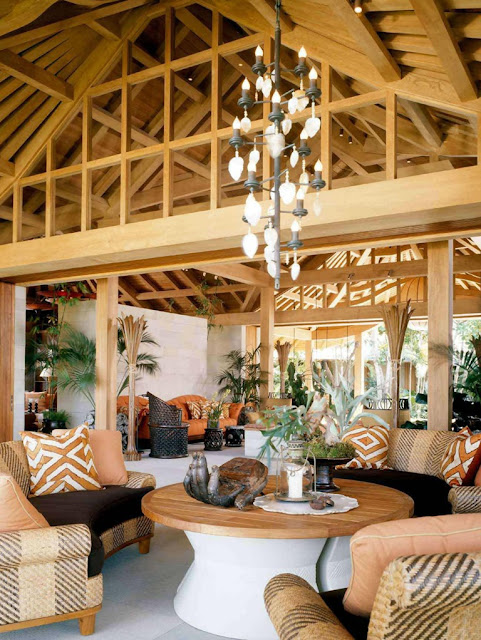 Tropical Living Room