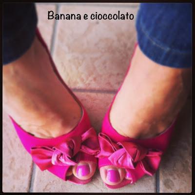 scarpe rosa con tacco