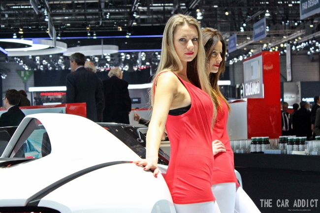TOP 10 Messe-Girls des Genfer Automobilsalons 2013