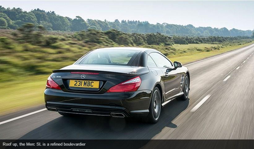 Luxury Car Brands - PORTAL  : Mercedes SL400 (2015) review
