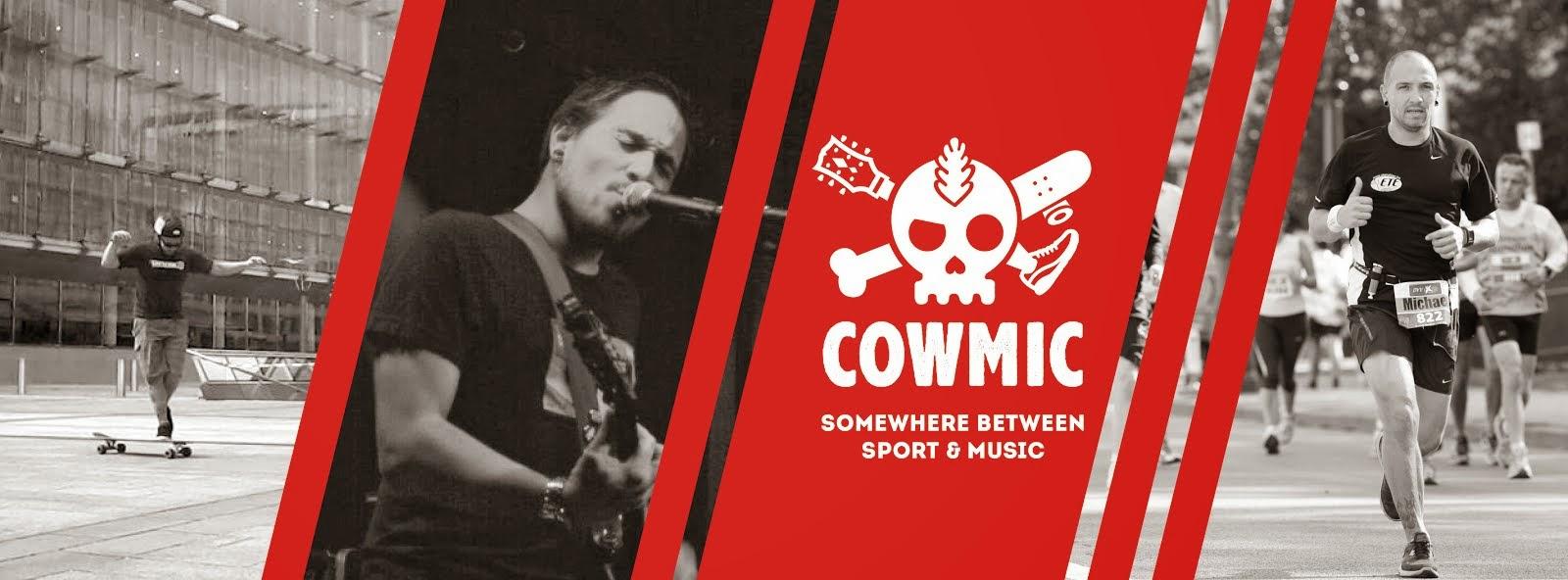 Cowmic - Between Sport & Music