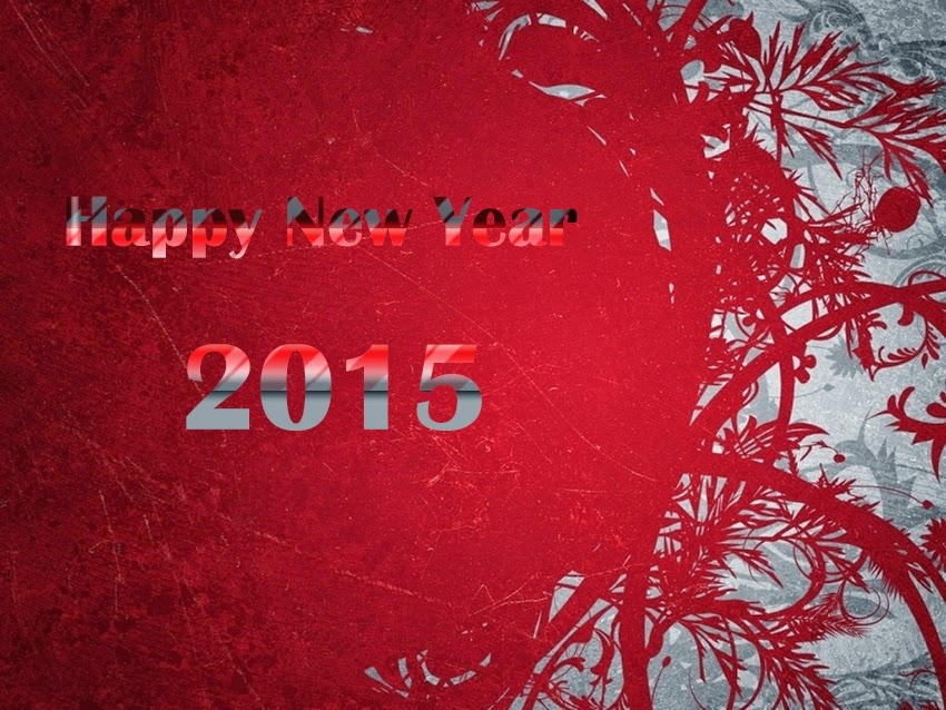 Beautiful Stylish Happy New Year Wallpapers 2015