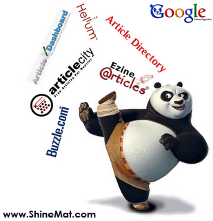 Articles Reject by Google Panda