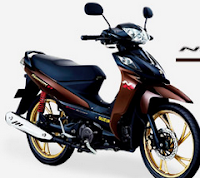 GAMBAR SUZUKI SHOGUN 125 NR II SPEED RUNNER