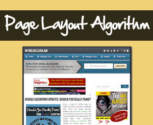 Google Page Layout Algorithm Update