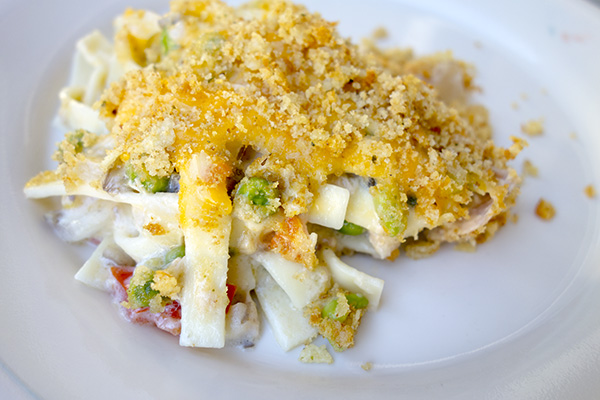 Fancy Schmancy Tuna Noodle Casserole by DeDe Smith