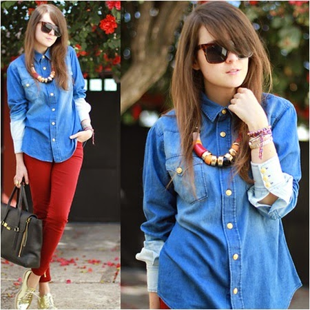 style pakaian denim