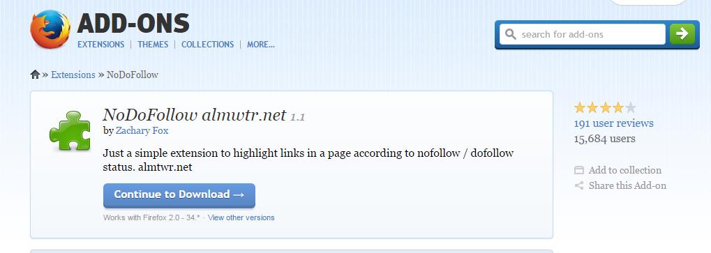 [السيو] معرفة روابط DoFollow او NoFollow على متصفح جوجل كروم وفايرفوكس