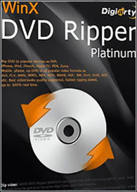 WinX DVD Ripper Platinum 7.0.0.95