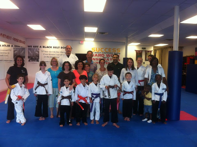 kids karate test in fairfield connecticut at Stryker Martial Arts