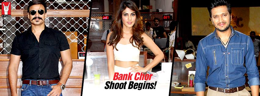 full cast and crew of bollywood movie Bank Chor! wiki, story, poster, trailer ft Riteish Deshmukh, Vivek Oberoi and Rhea Chakraborty