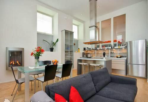 Sala comedor y cocina juntos salas con estilo for Cocina sala comedor juntos