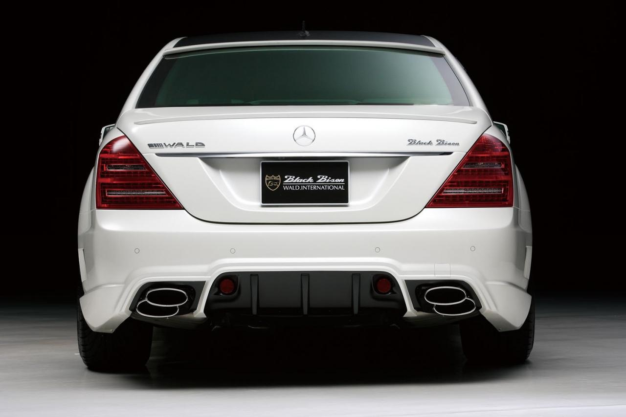 Black bison edition tuning package for the w204 mercedes benz c class - Http Www Benztuning Com 2011 05 Mercedes Benz S Class Black Bison Html