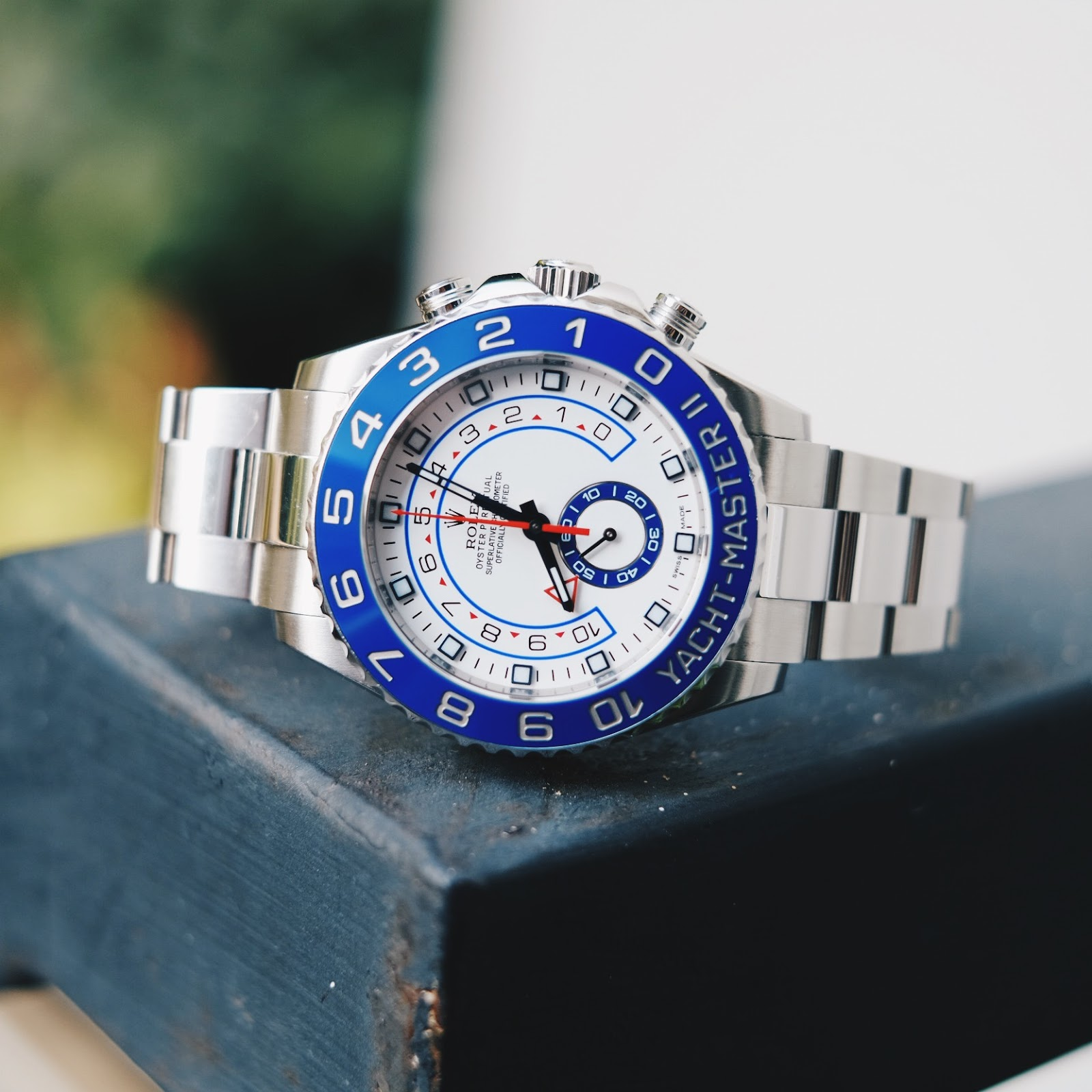 rolex yachtmaster 2 stainless steel 2013