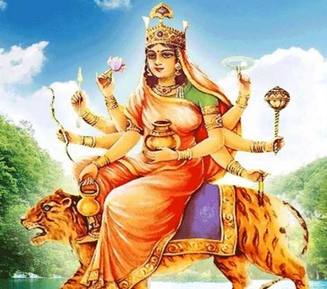 नवरात्री के चौथे दिन कुष्मांडा माँ की पूजा