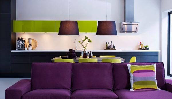 L 39 univers d 39 in s color splash purple for Ikea decoracion de interiores