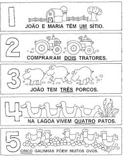 atividades para educação infanti l- números com animais 2