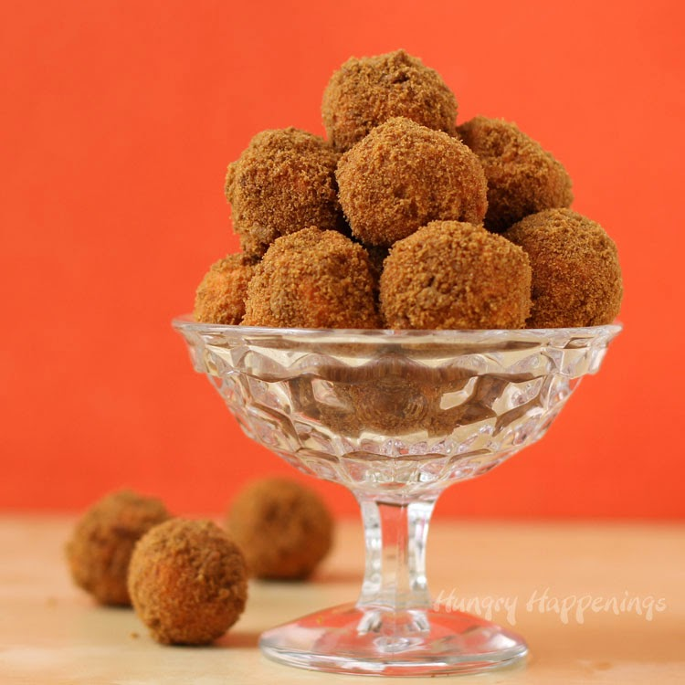 Hungry Happenings: Pumpkin Gingerbread Truffles made with Pumpkin ...